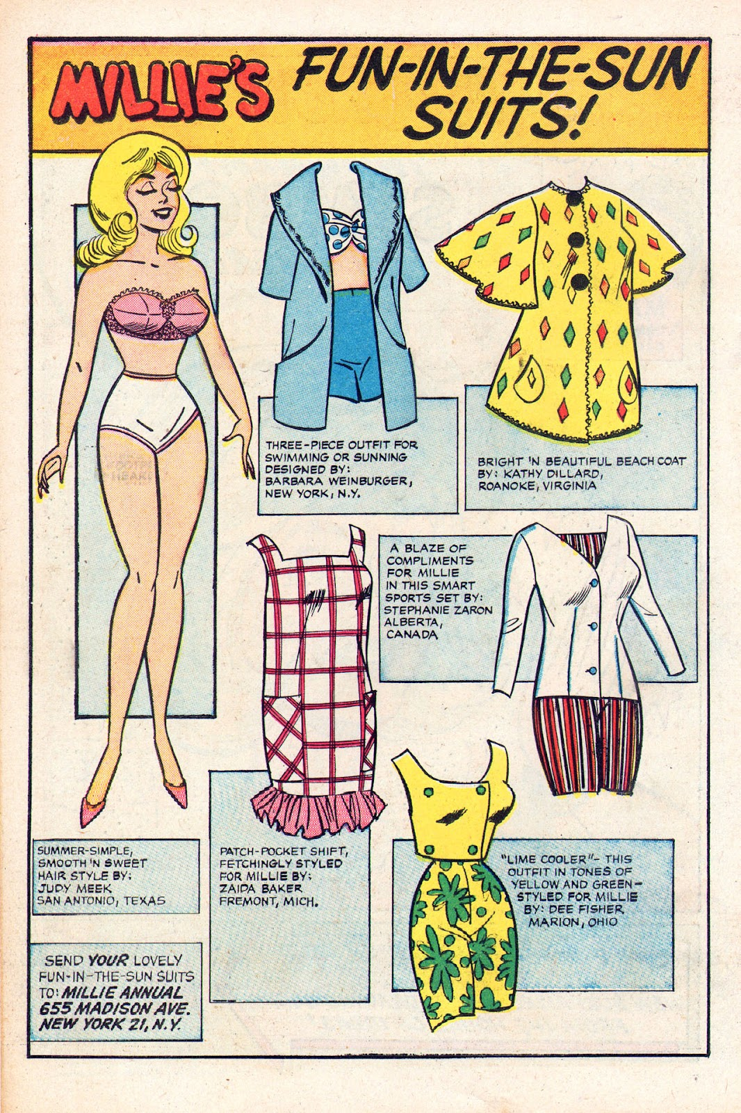 Read online Millie the Model comic -  Issue # Annual 2 - 74
