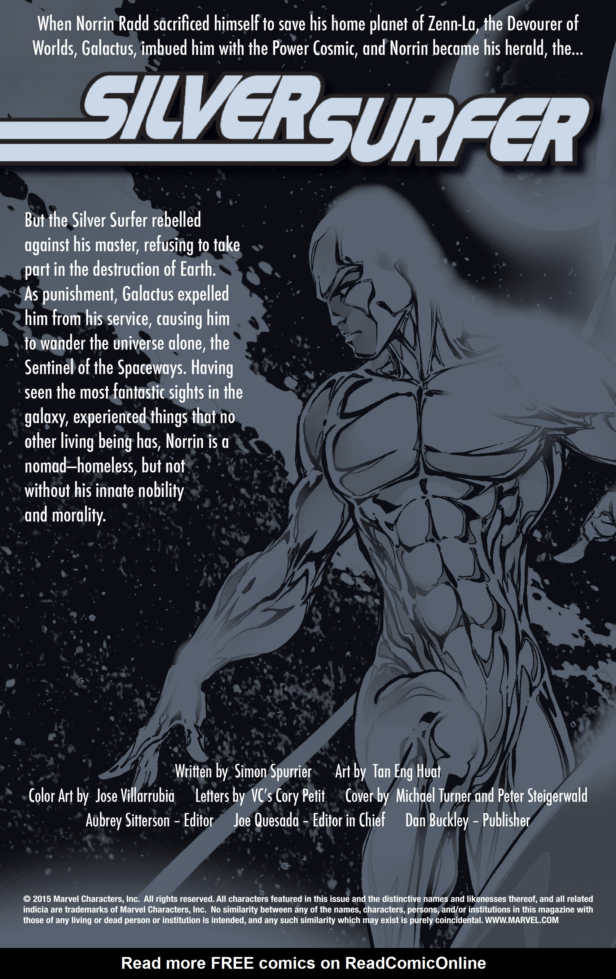 Read online Silver Surfer: In Thy Name comic -  Issue #1 - 2