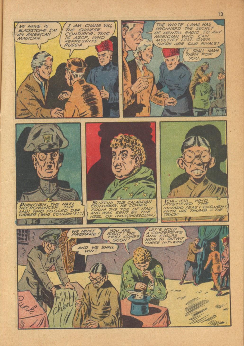 Read online Super-Magician Comics comic -  Issue #13 - 13