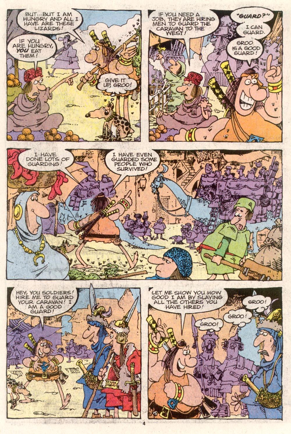 Read online Sergio Aragonés Groo the Wanderer comic -  Issue #80 - 4