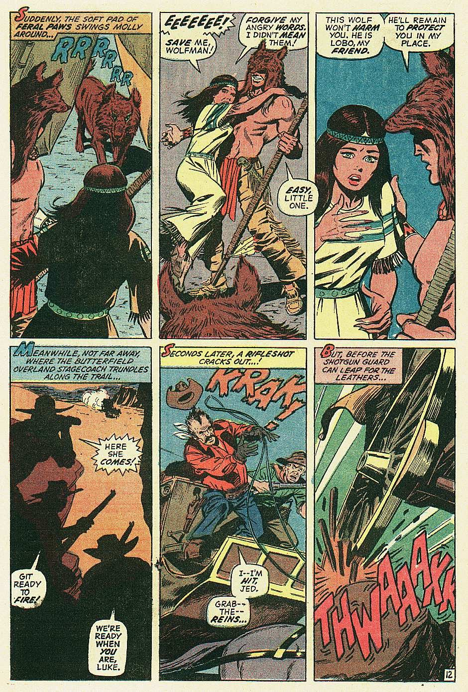 Red Wolf (1972) issue 2 - Page 13