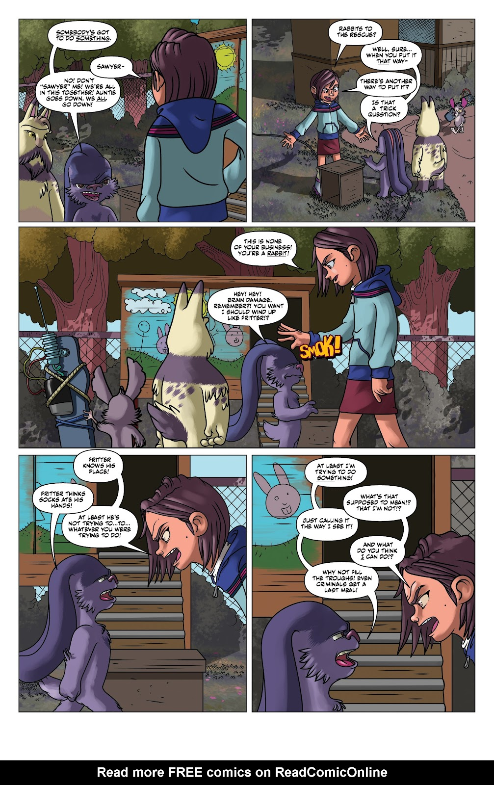 Read online Auntie Agatha's Home For Wayward Rabbits comic -  Issue #5 - 13