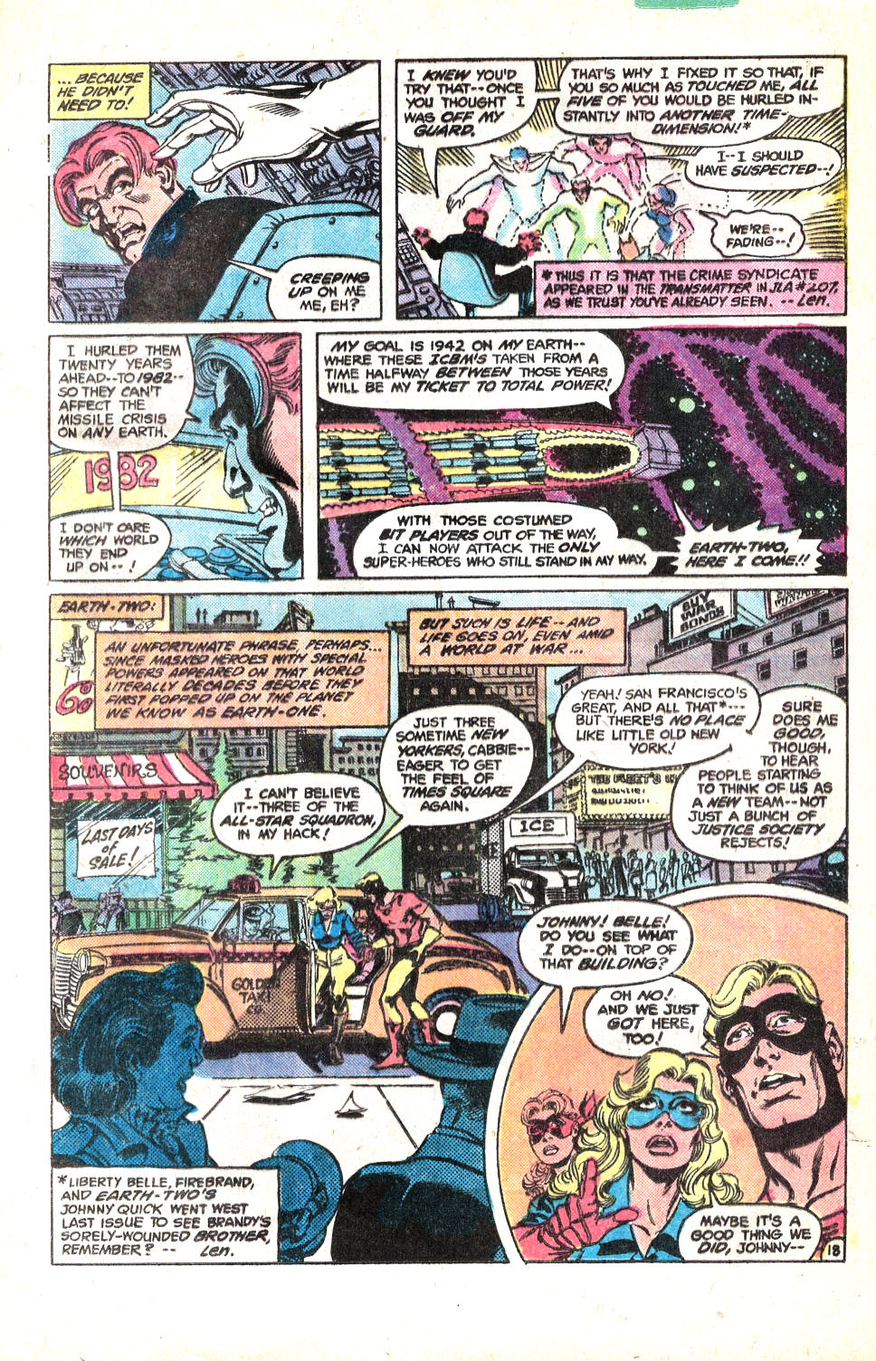 Read online All-Star Squadron comic -  Issue #14 - 24