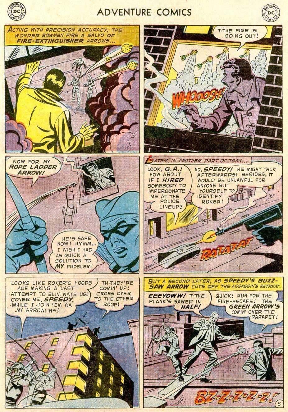Read online Adventure Comics (1938) comic -  Issue #244 - 22