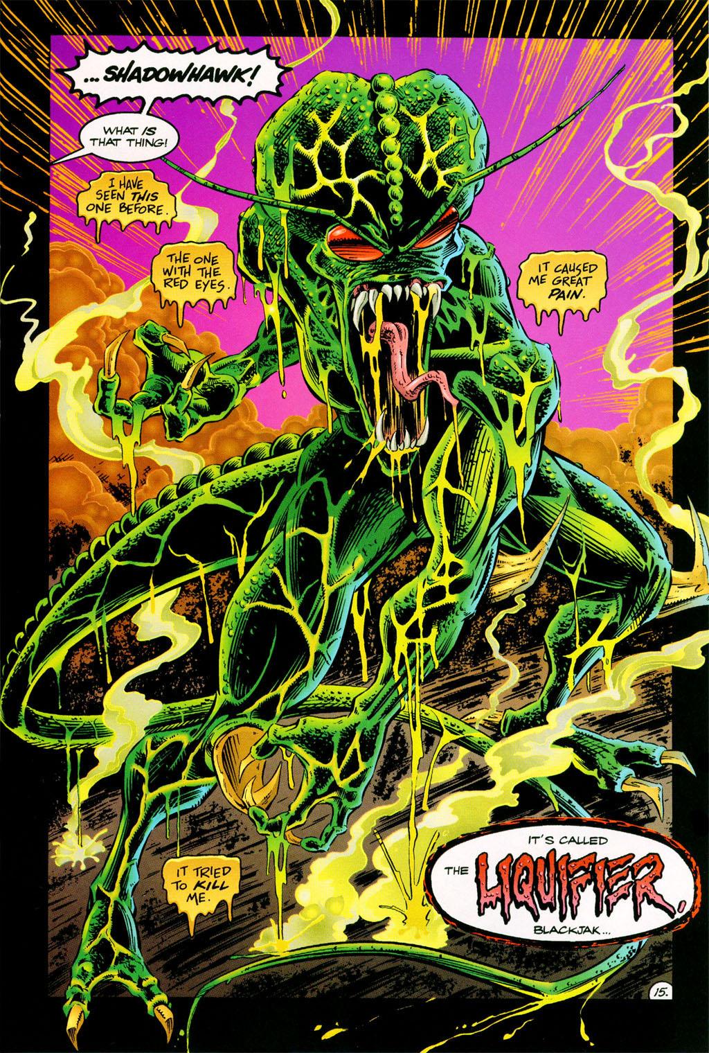 Read online ShadowHawk comic -  Issue #11 - 13