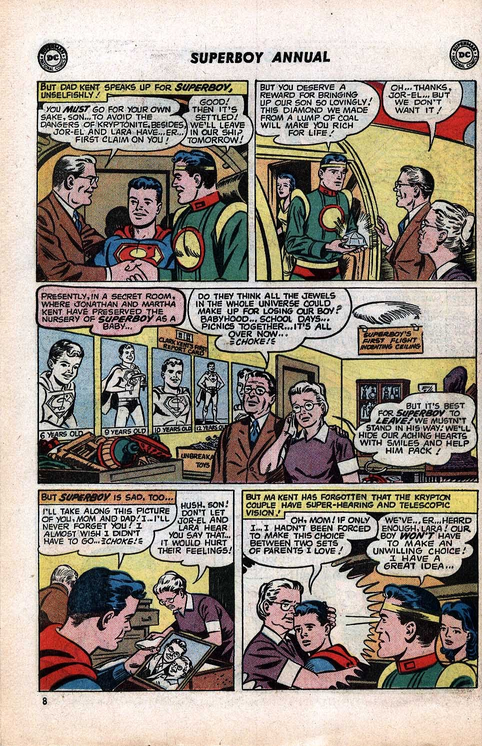 Superboy (1949) issue Annual 1 - Page 10
