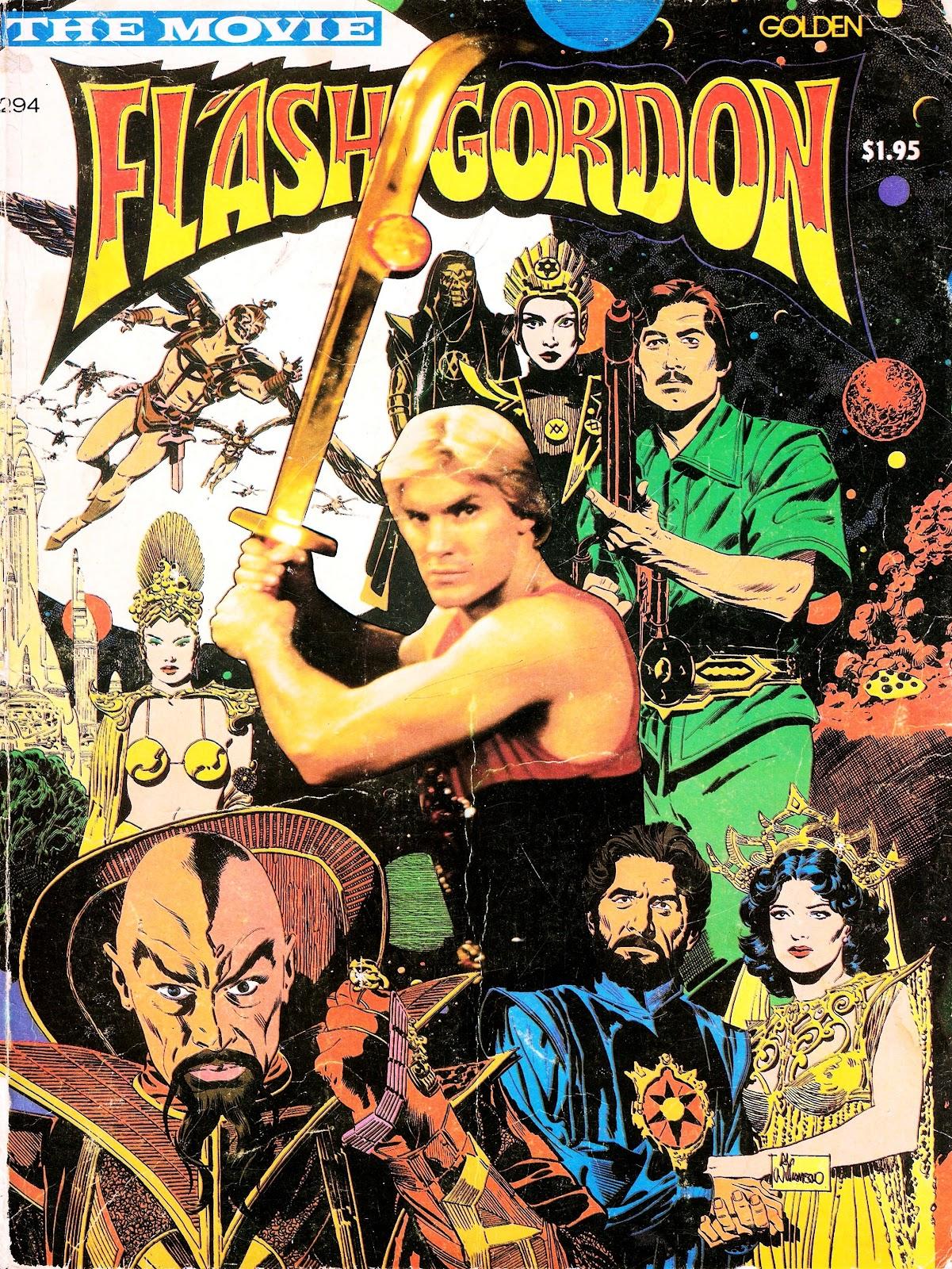 Flash Gordon Movie Special Full Page 1