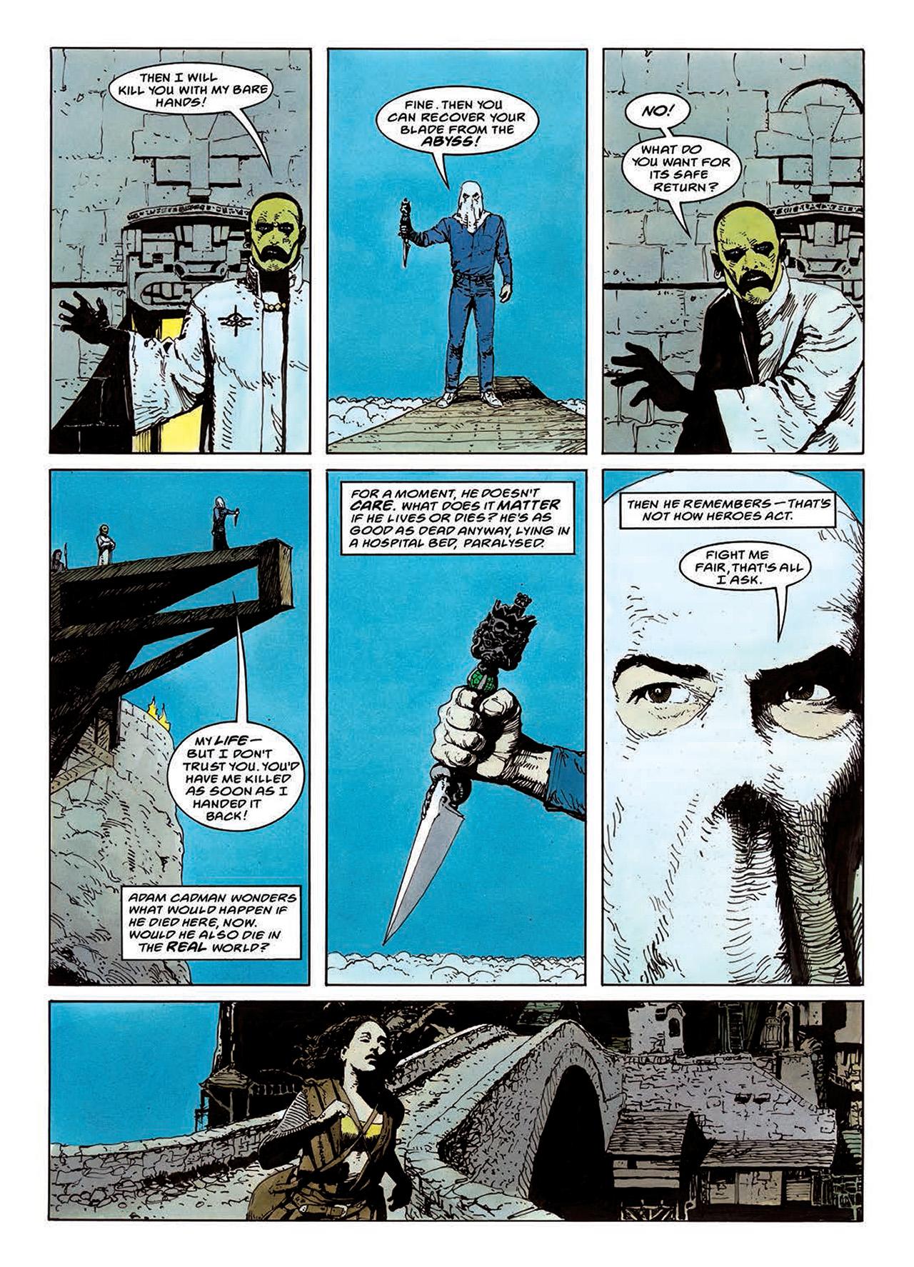 Read online Mazeworld comic -  Issue # TPB - 91