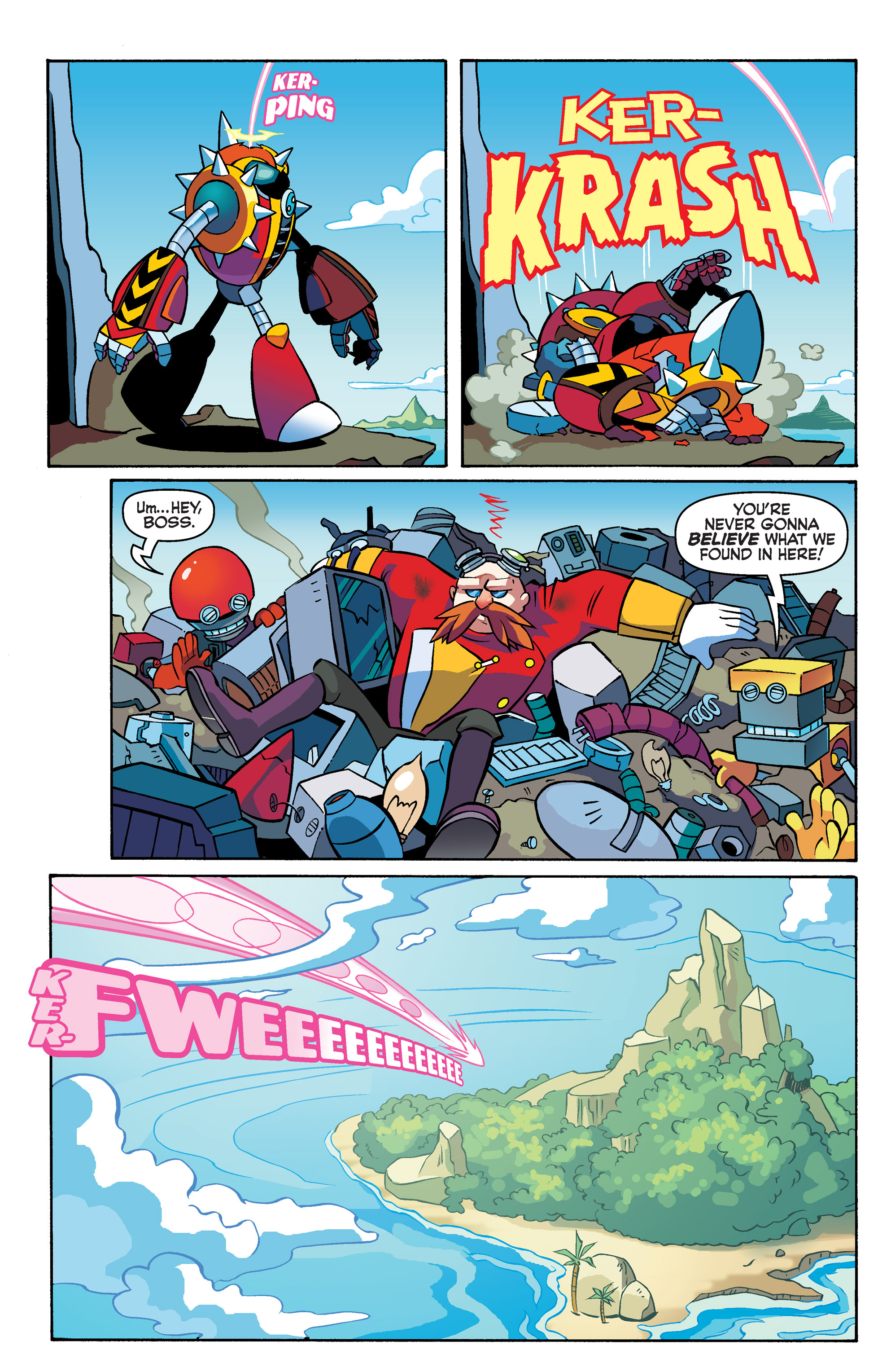 Read online Sonic Boom comic -  Issue #3 - 18