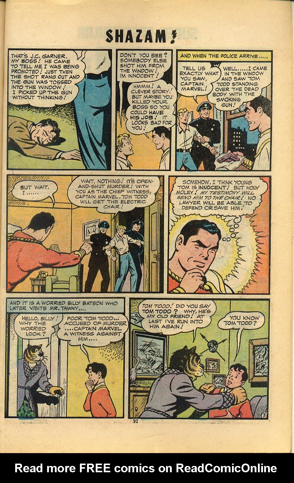 Read online Shazam! (1973) comic -  Issue #8 - 91