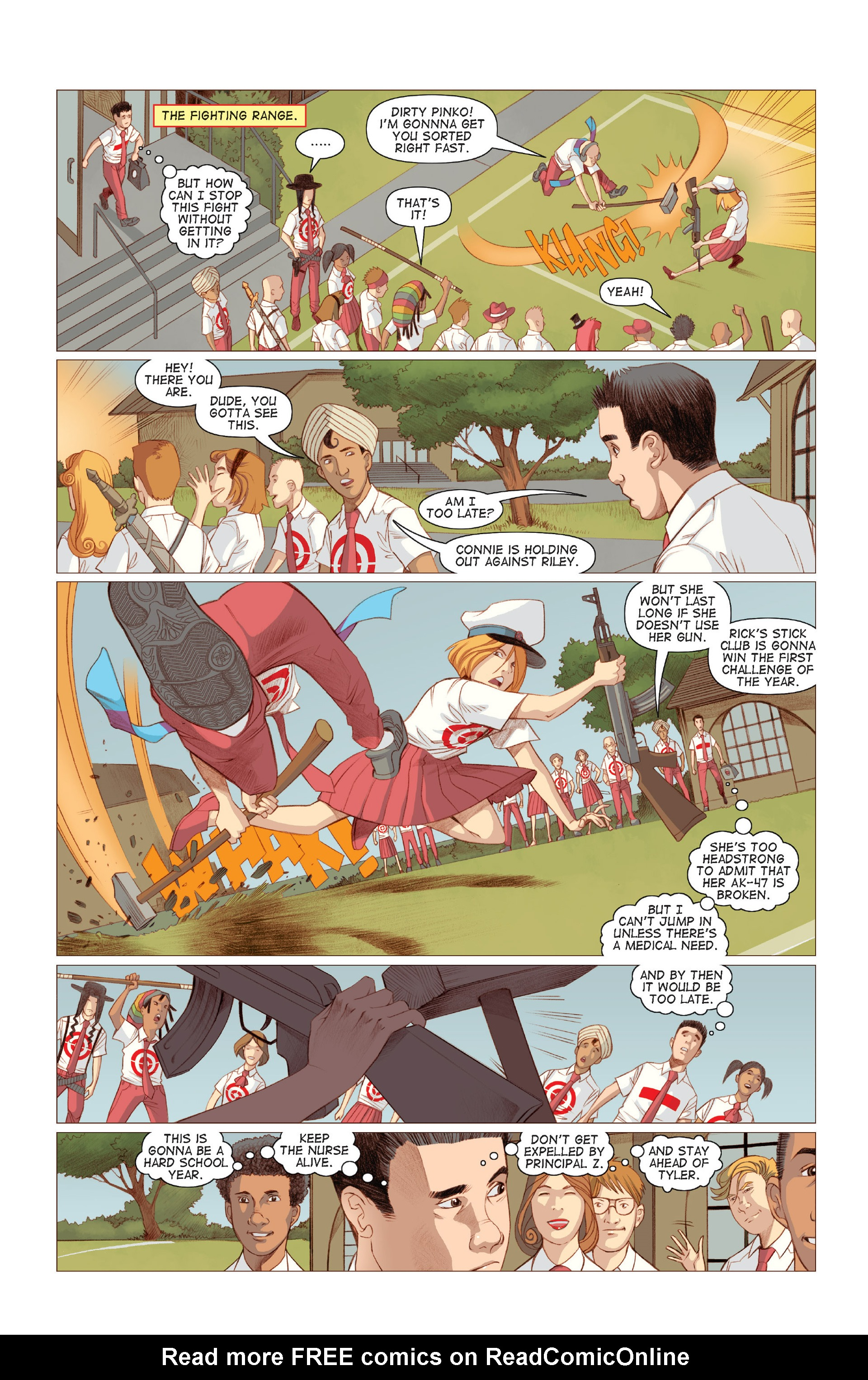 Read online Five Weapons comic -  Issue #6 - 23