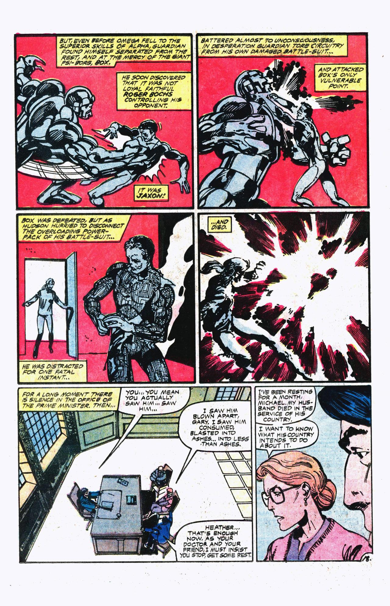 Read online Alpha Flight (1983) comic -  Issue #13 - 19