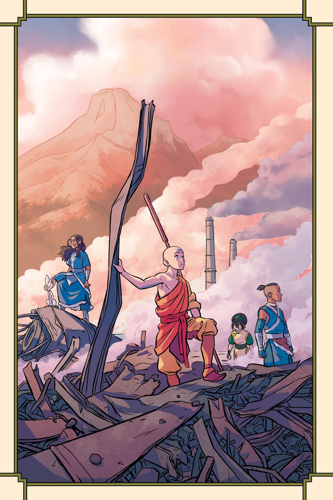 Read online Nickelodeon Avatar: The Last Airbender - Imbalance comic -  Issue # TPB 2 - 3