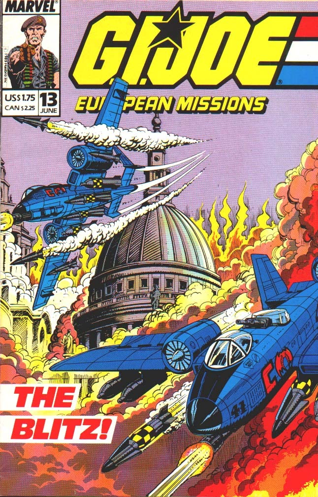 G.I. Joe European Missions issue 13 - Page 1