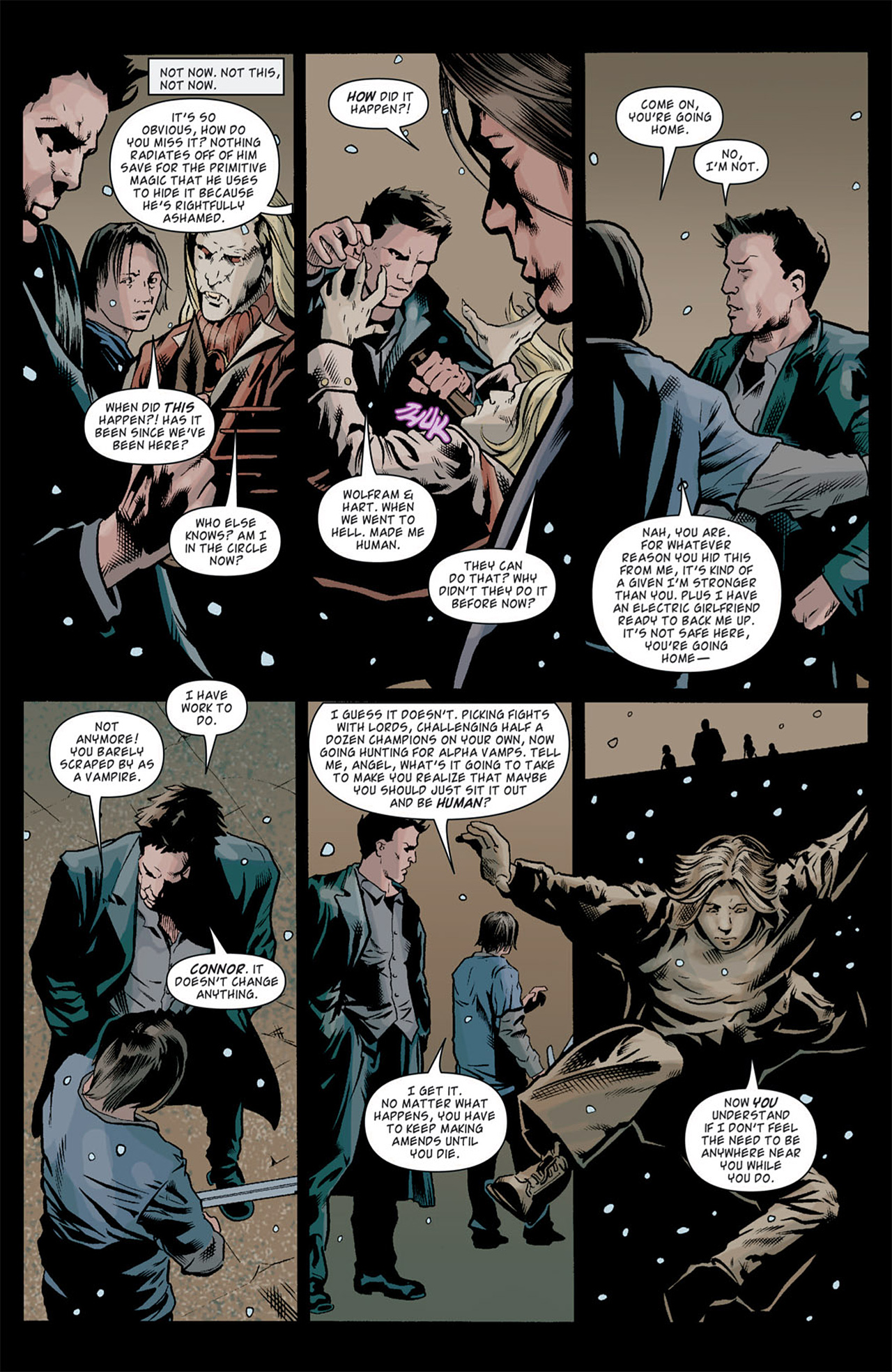 Read online Angel: After The Fall comic -  Issue #10 - 16