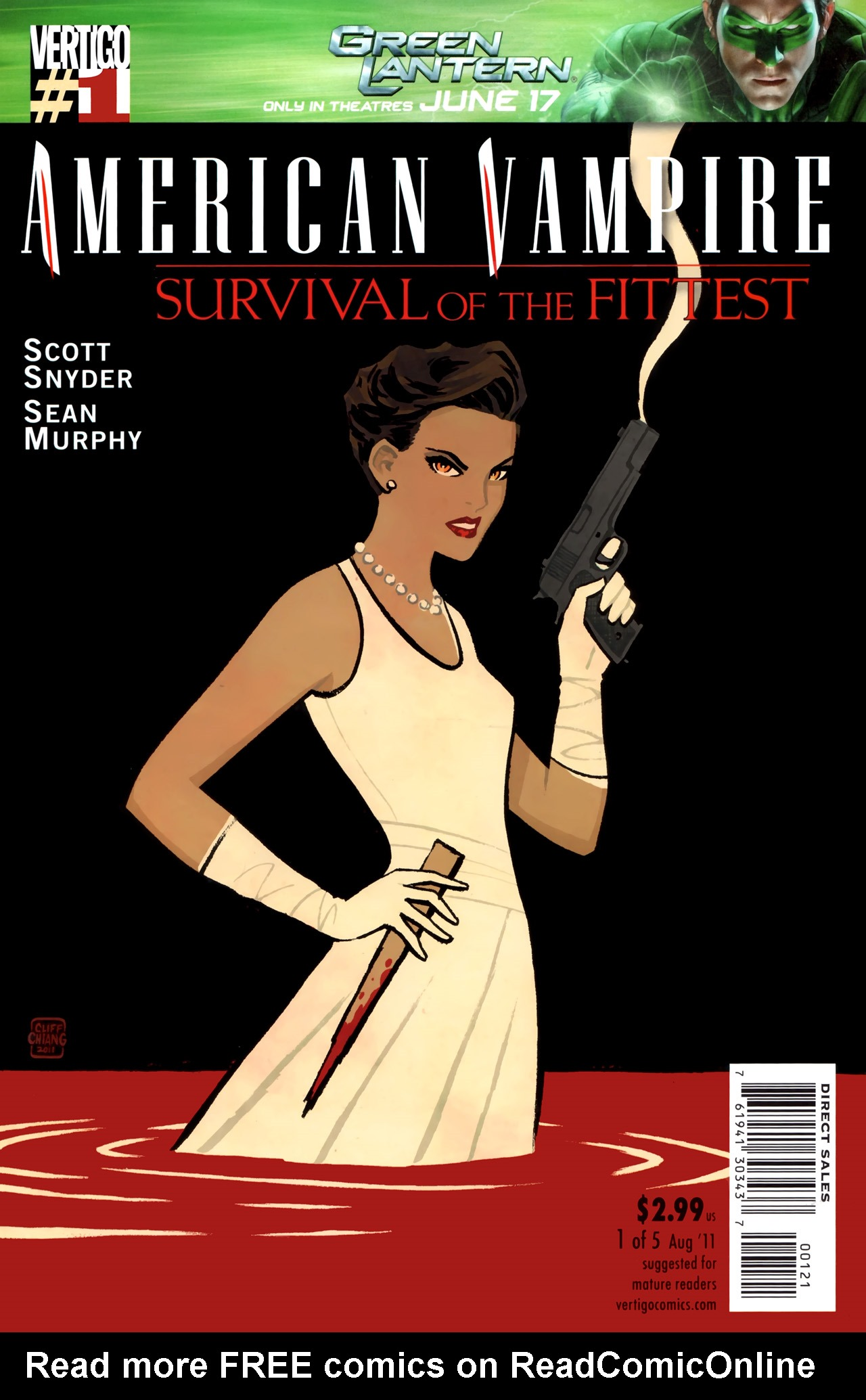 Read online American Vampire: Survival of the Fittest comic -  Issue #1 - 2
