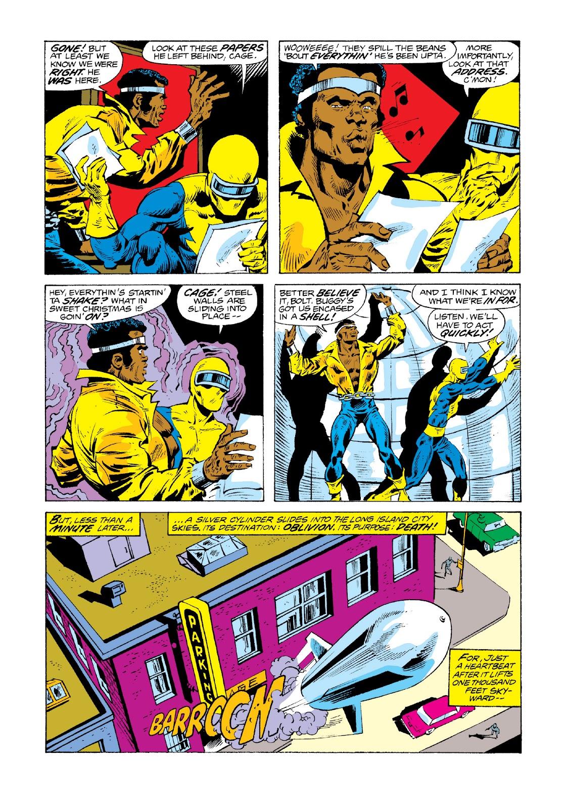 Read online Marvel Masterworks: Luke Cage, Power Man comic -  Issue # TPB 3 (Part 3) - 21