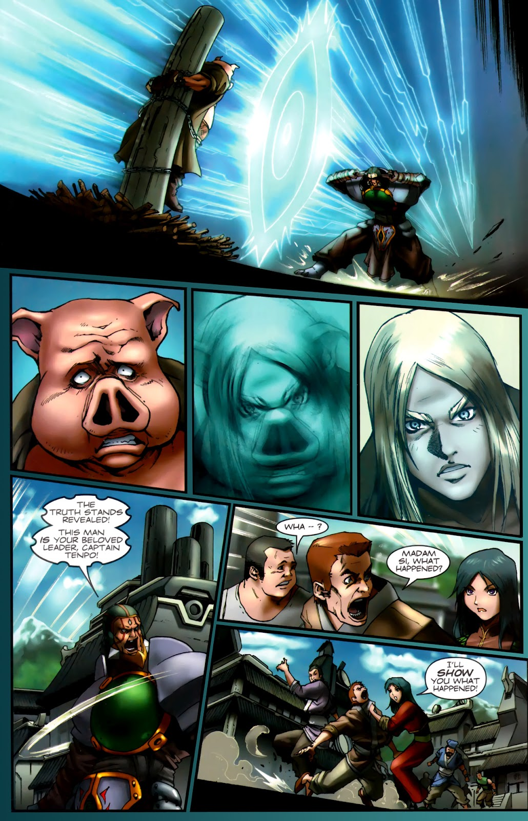 Read online Xin: Journey of the Monkey King comic -  Issue #2 - 19