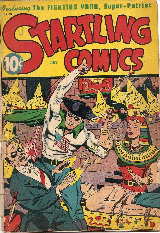 Startling Comics 40 Page 1