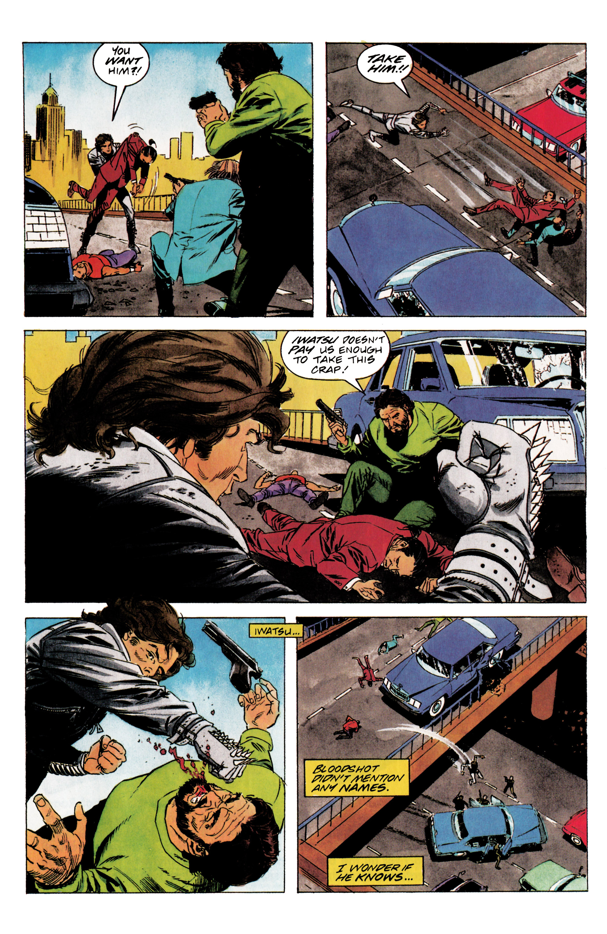 Read online Eternal Warrior (1992) comic -  Issue #5 - 14