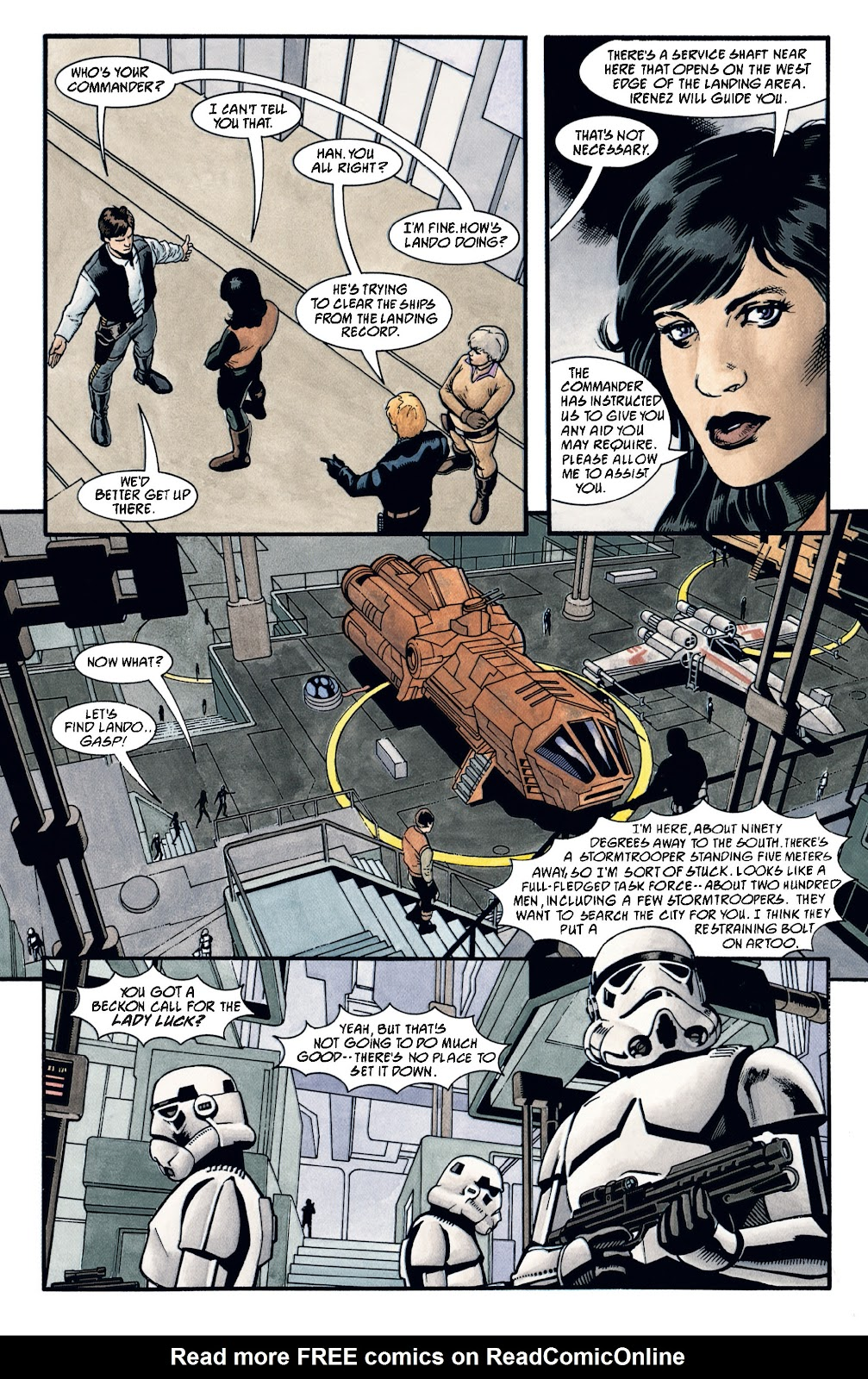Read online Star Wars Legends: The New Republic - Epic Collection comic -  Issue # TPB 4 (Part 2) - 84