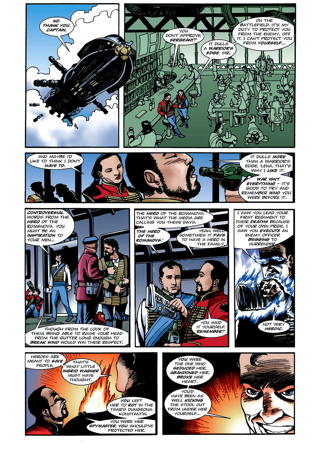 Read online Nikolai Dante comic -  Issue # TPB 4 - 111
