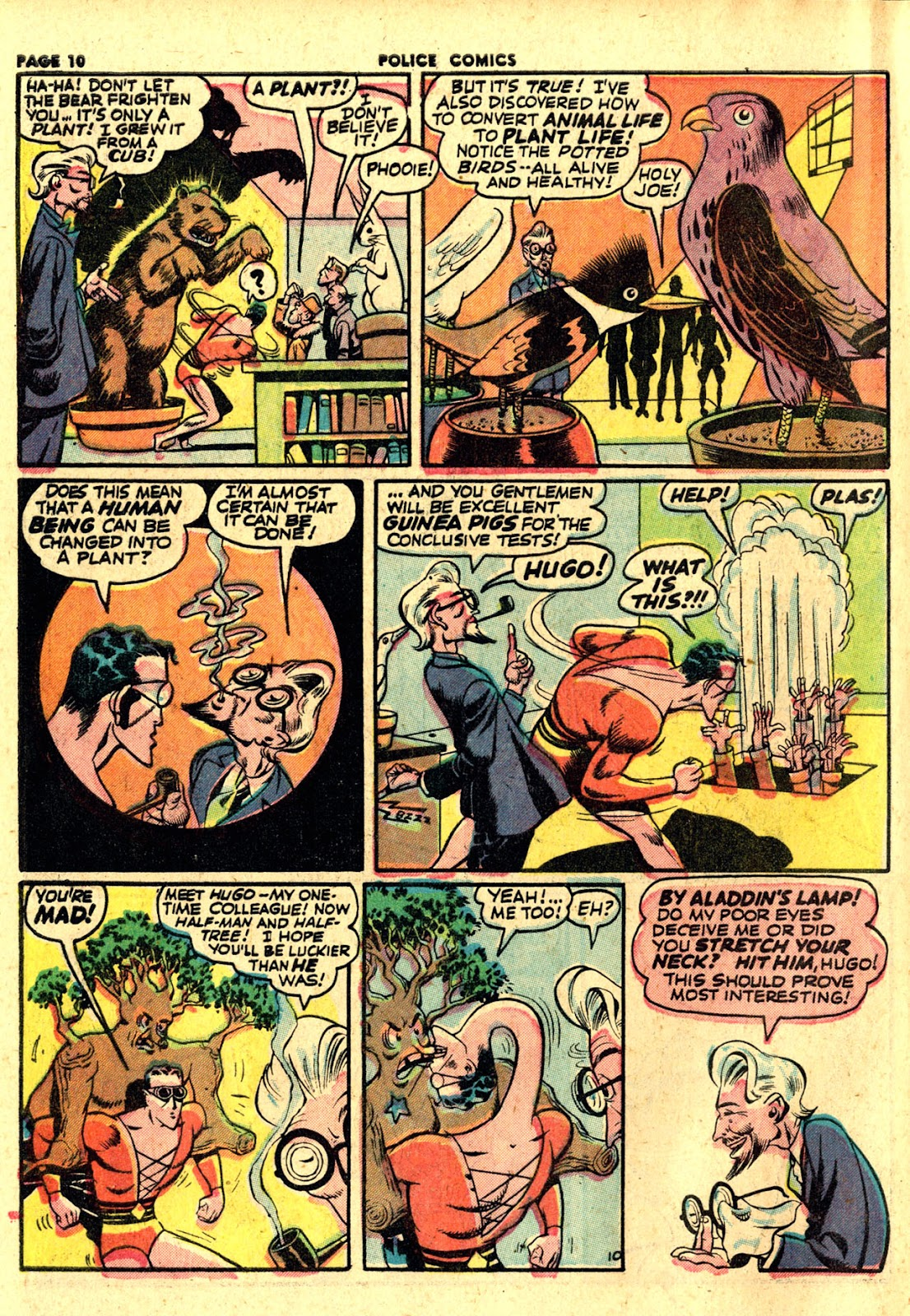Police Comics issue 19 - Page 12