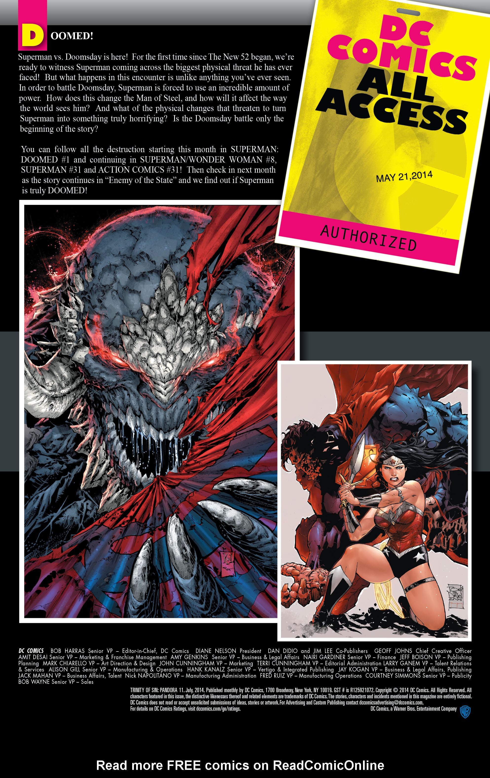Read online Trinity of Sin: Pandora comic -  Issue #11 - 25