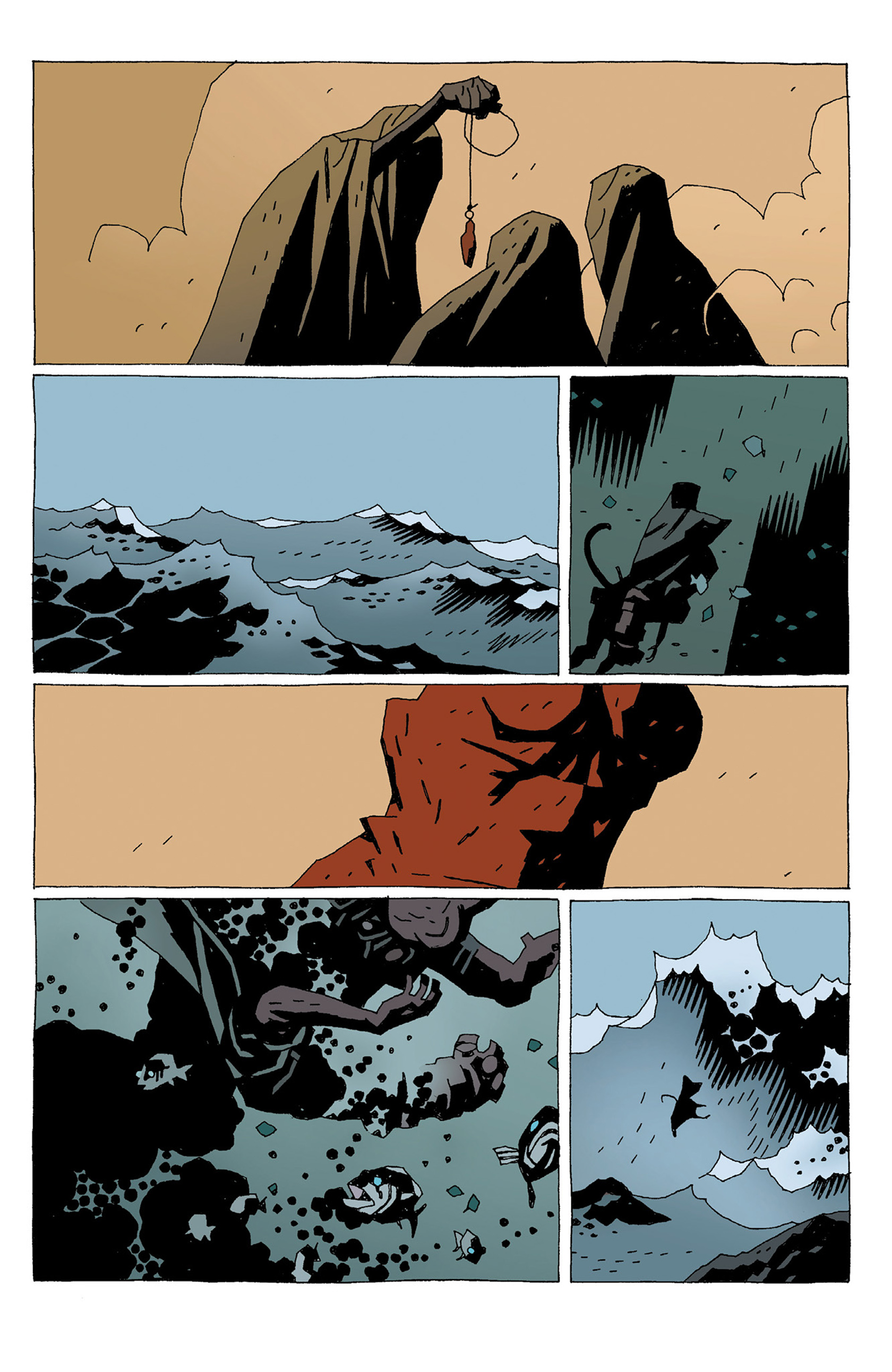 Read online Hellboy: Strange Places comic -  Issue # TPB - 135