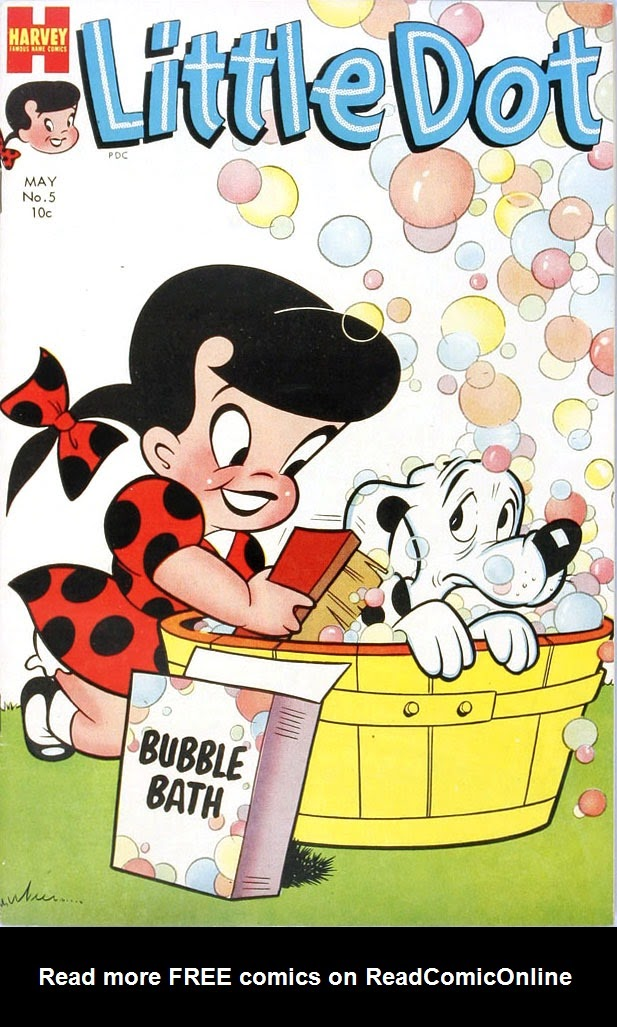 Little Dot (1953) issue 5 - Page 1