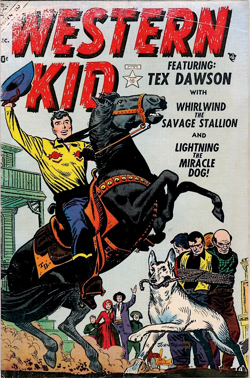 Western Kid 1 Page 1