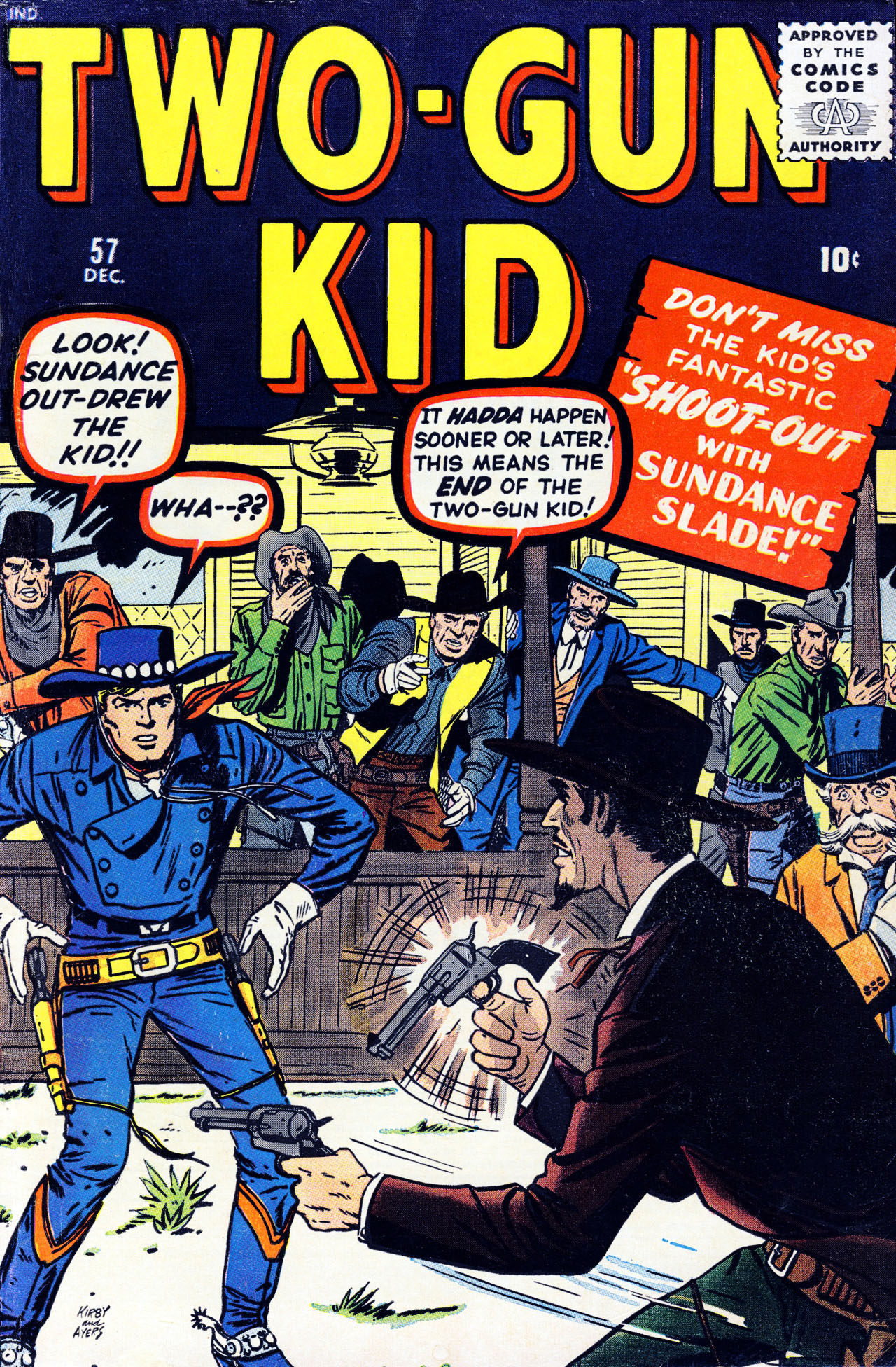 Read online Two-Gun Kid comic -  Issue #57 - 1