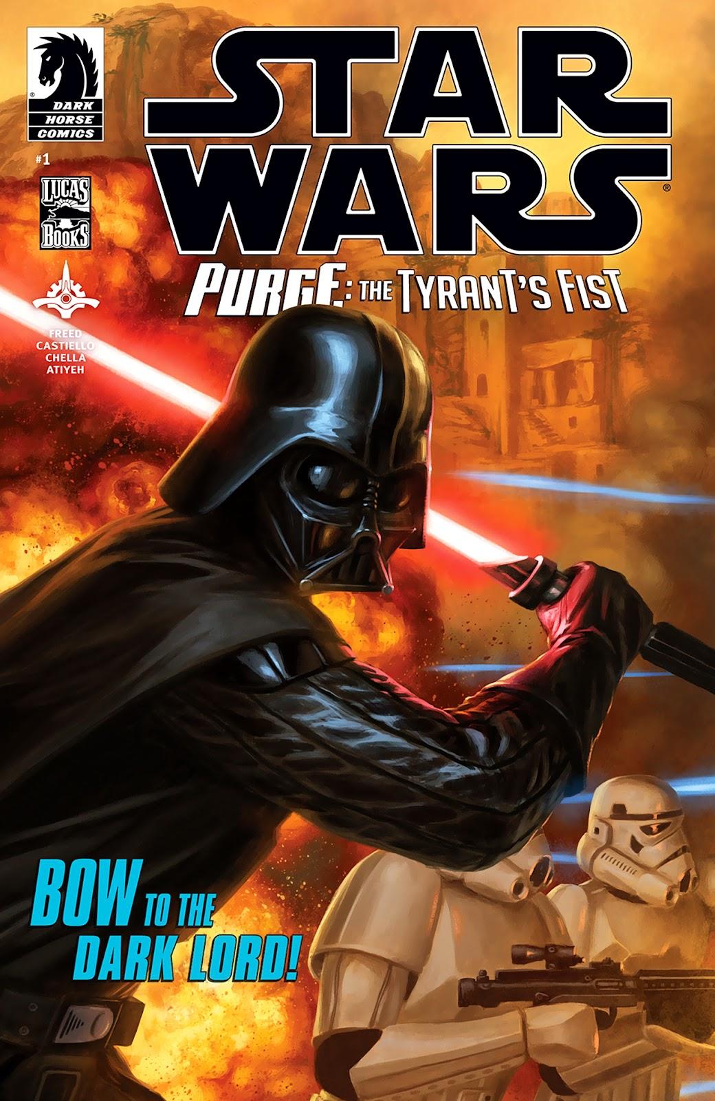 Star Wars: Purge - The Tyrants Fist 1 Page 1