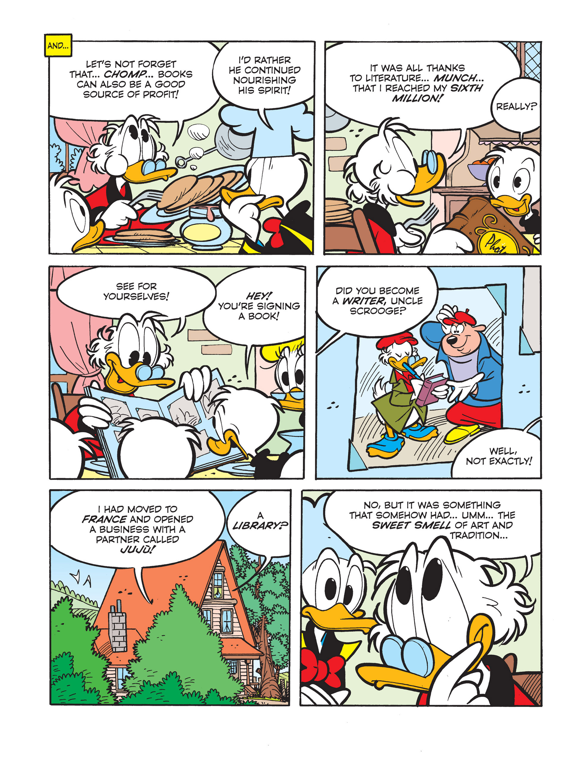 Read online All of Scrooge McDuck's Millions comic -  Issue #6 - 4