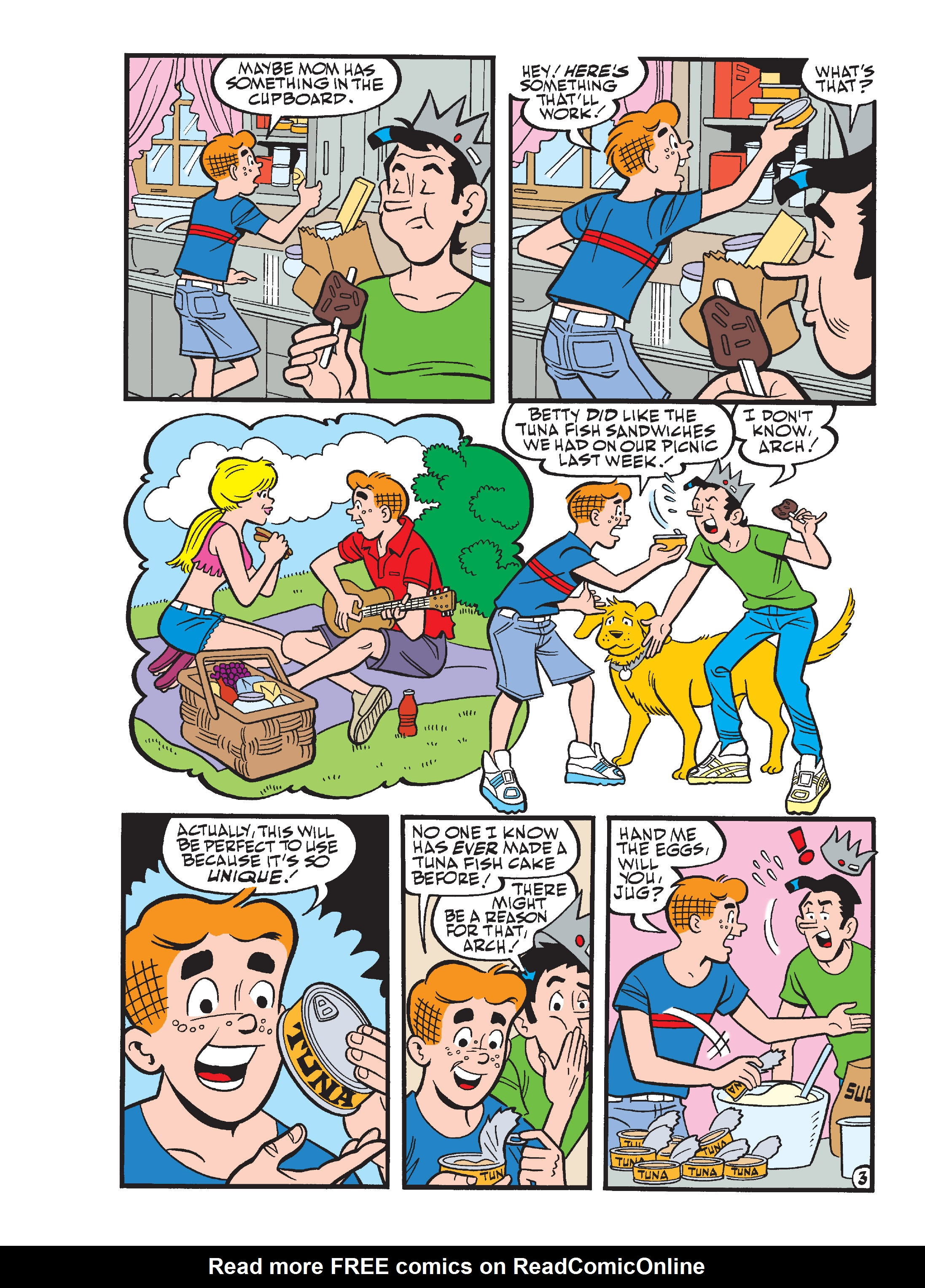 Read online Archie's Funhouse Double Digest comic -  Issue #17 - 4