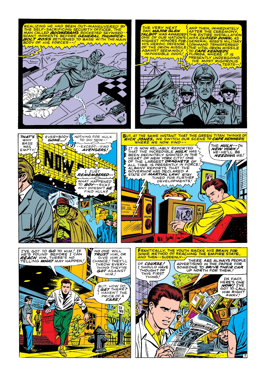 Read online Marvel Masterworks: The Incredible Hulk comic -  Issue # TPB 3 (Part 1) - 58