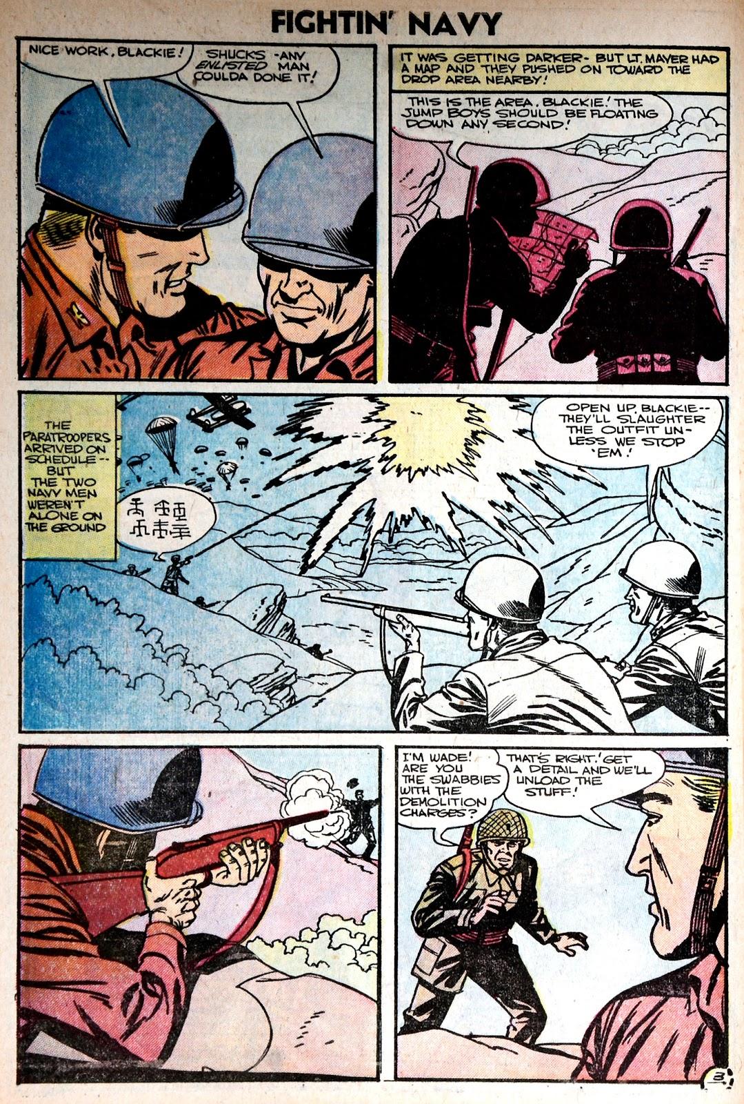 Read online Fightin' Navy comic -  Issue #75 - 30