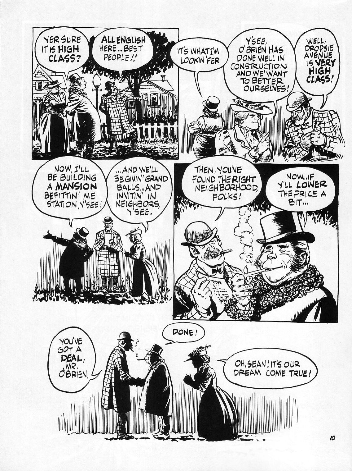 Read online Dropsie Avenue, The Neighborhood comic -  Issue # Full - 12