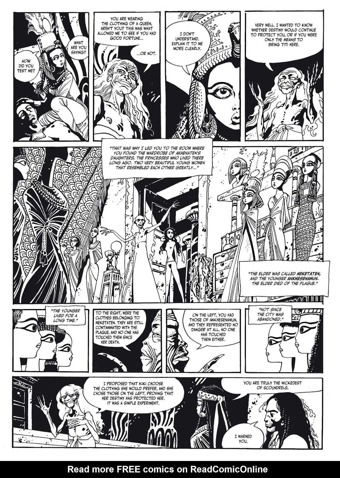 Read online The Egyptian Princesses comic -  Issue # TPB 1 (Part 2) - 21