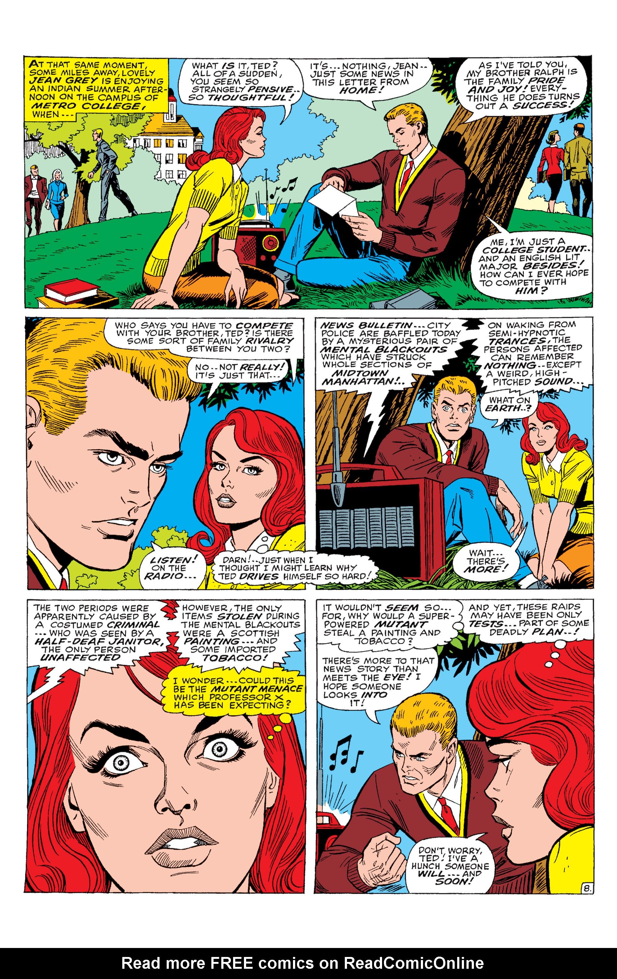 Read online Uncanny X-Men (1963) comic -  Issue #28 - 9