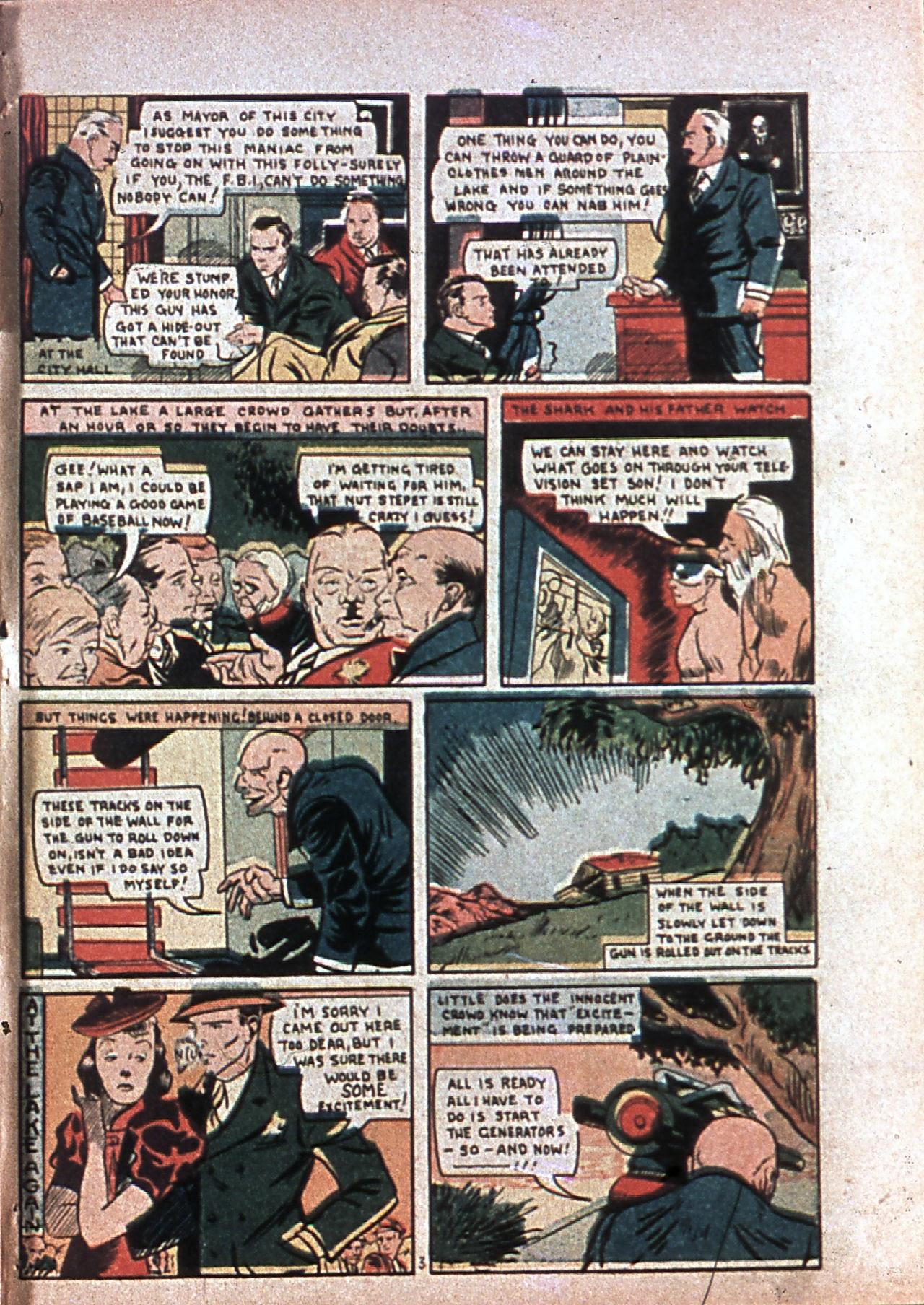 Read online Amazing Man Comics comic -  Issue #7 - 62