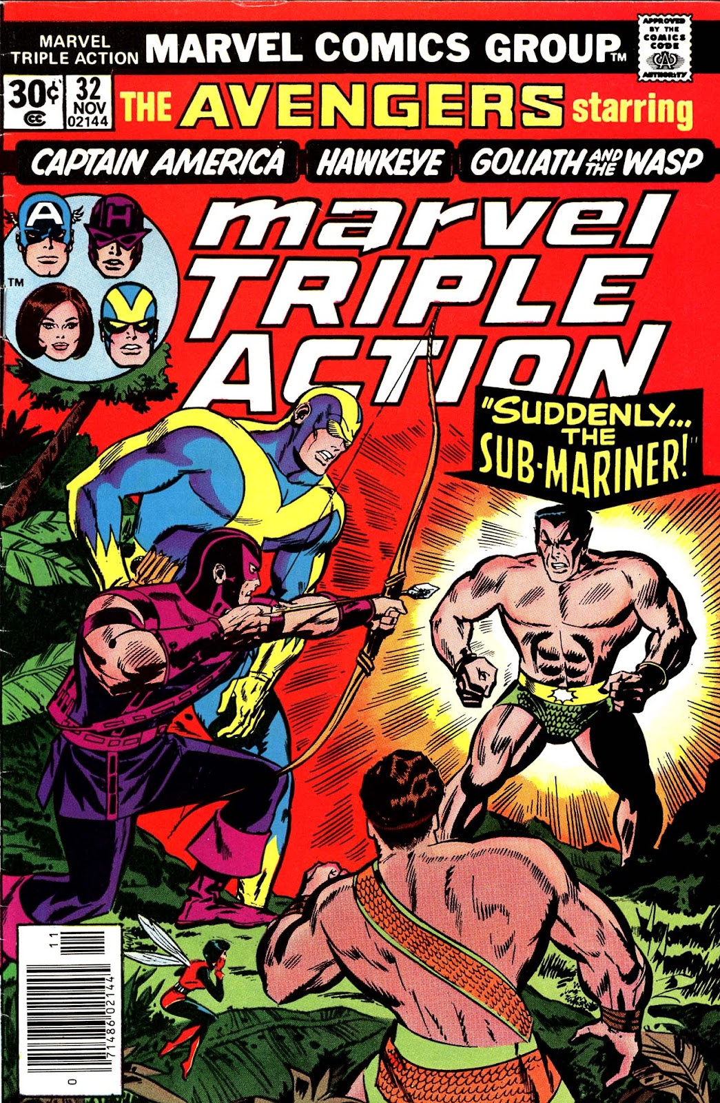 Marvel Triple Action (1972) issue 32 - Page 1