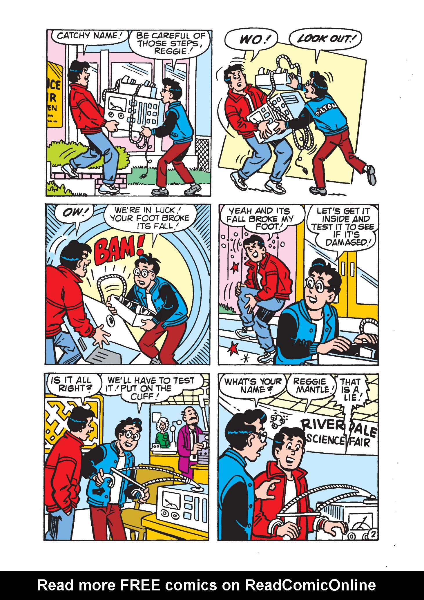 Read online Archie's Funhouse Double Digest comic -  Issue #9 - 149