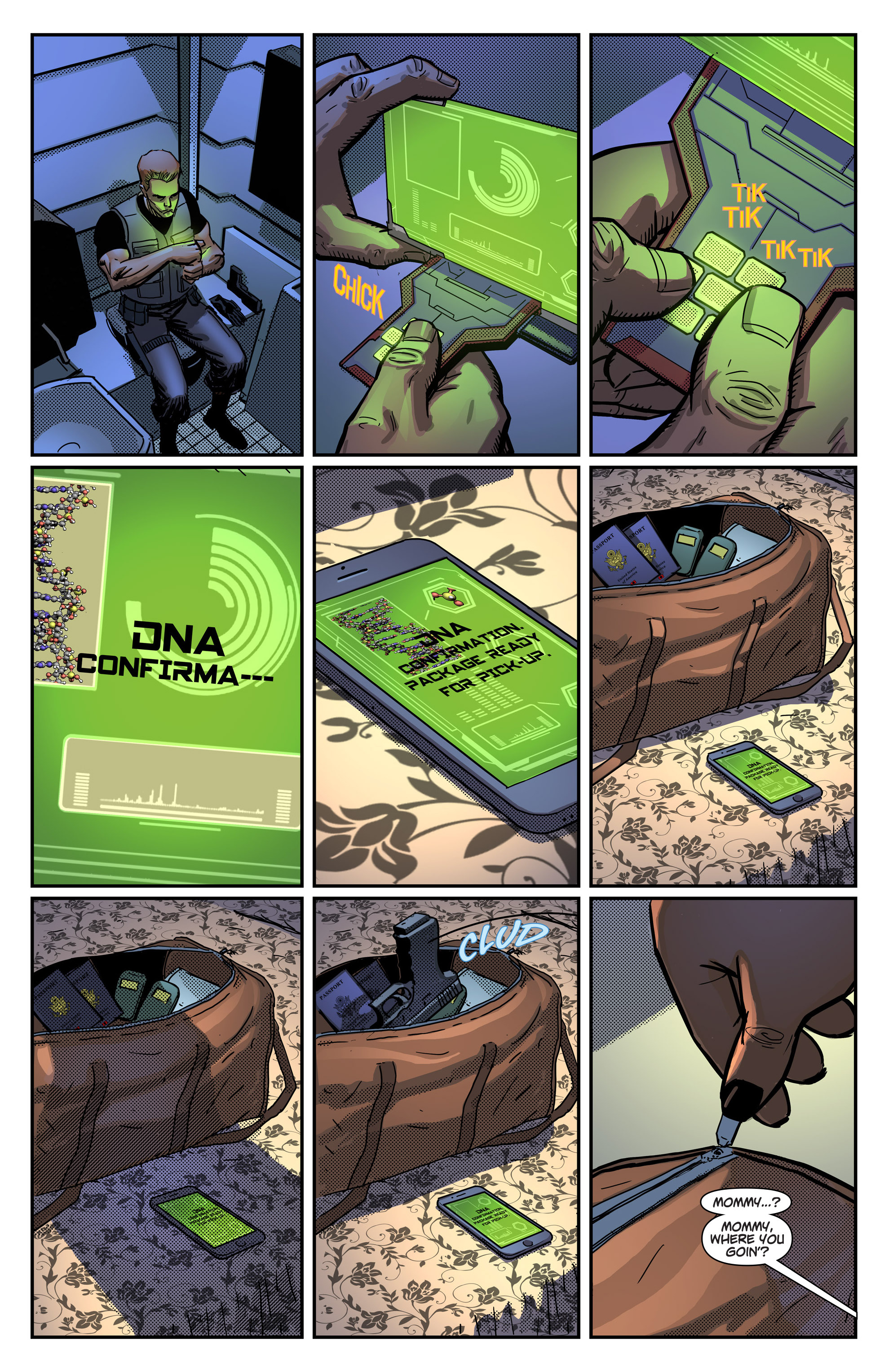 Read online Noble comic -  Issue #1 - 24