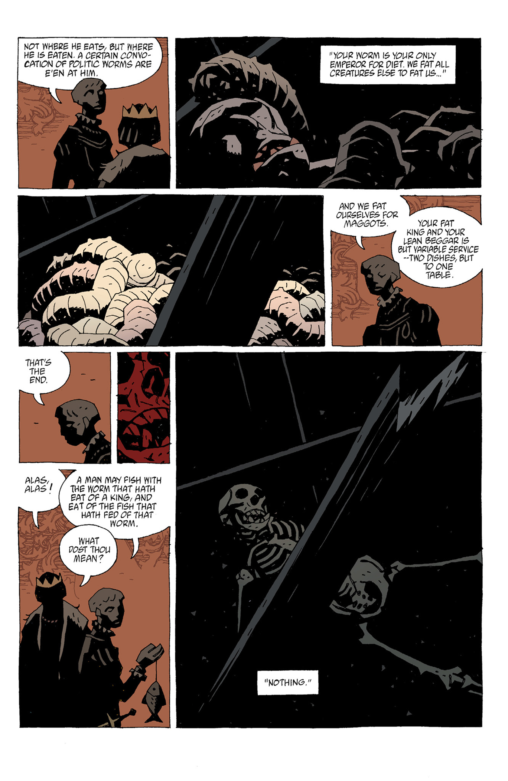 Read online Hellboy: The Troll Witch and Others comic -  Issue # TPB - 79