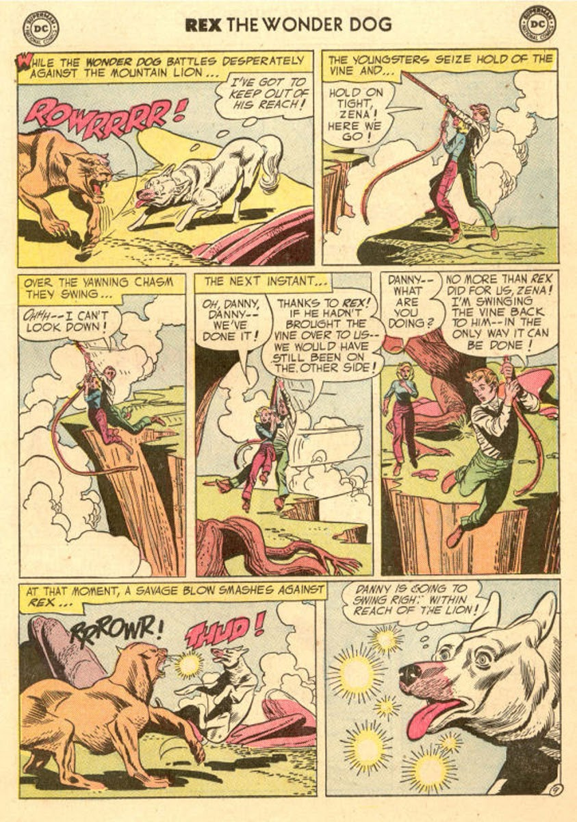The Adventures of Rex the Wonder Dog issue 20 - Page 11