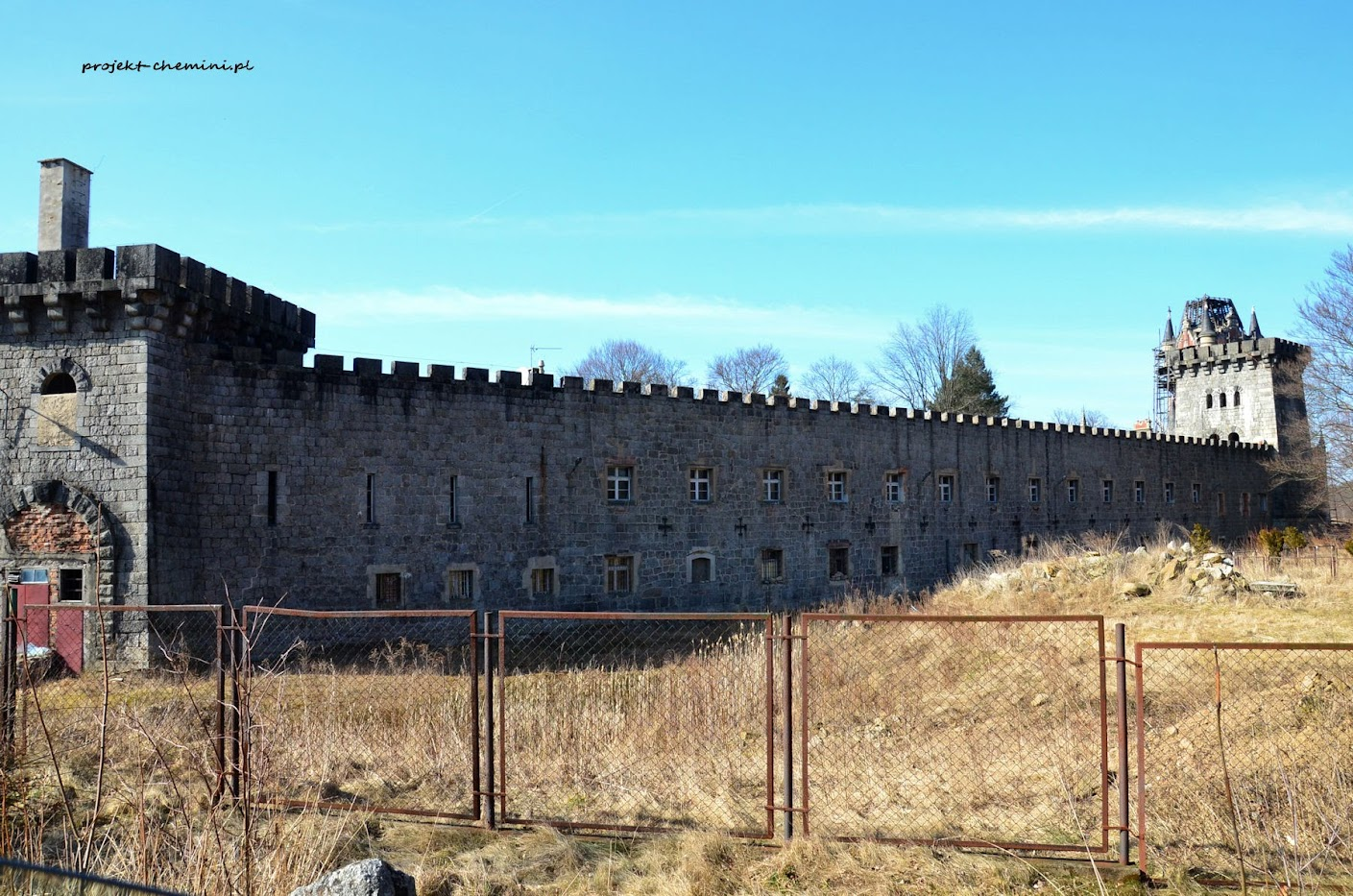 Pałac w Wojanowie- Bobrowie