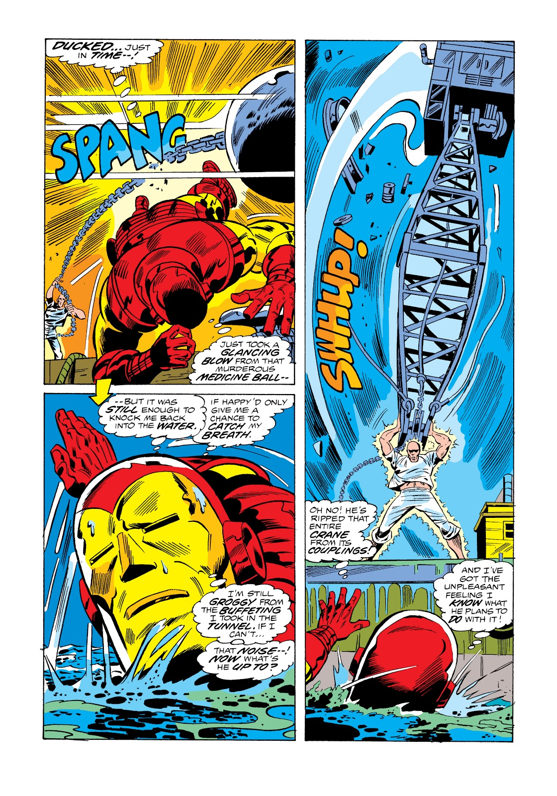 Read online Marvel Masterworks: The Invincible Iron Man comic -  Issue # TPB 11 (Part 1) - 60