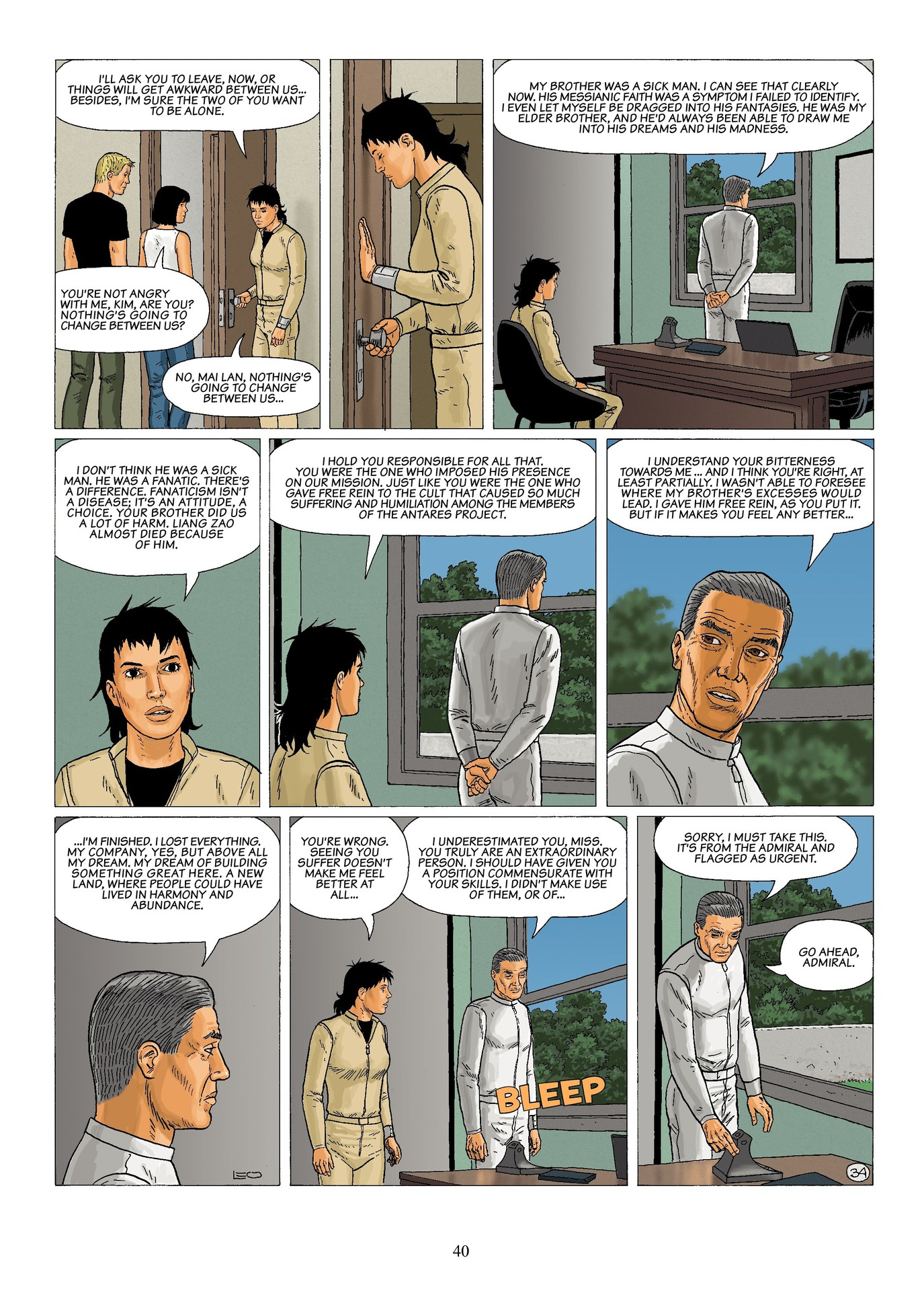 Read online Antares comic -  Issue #6 - 42
