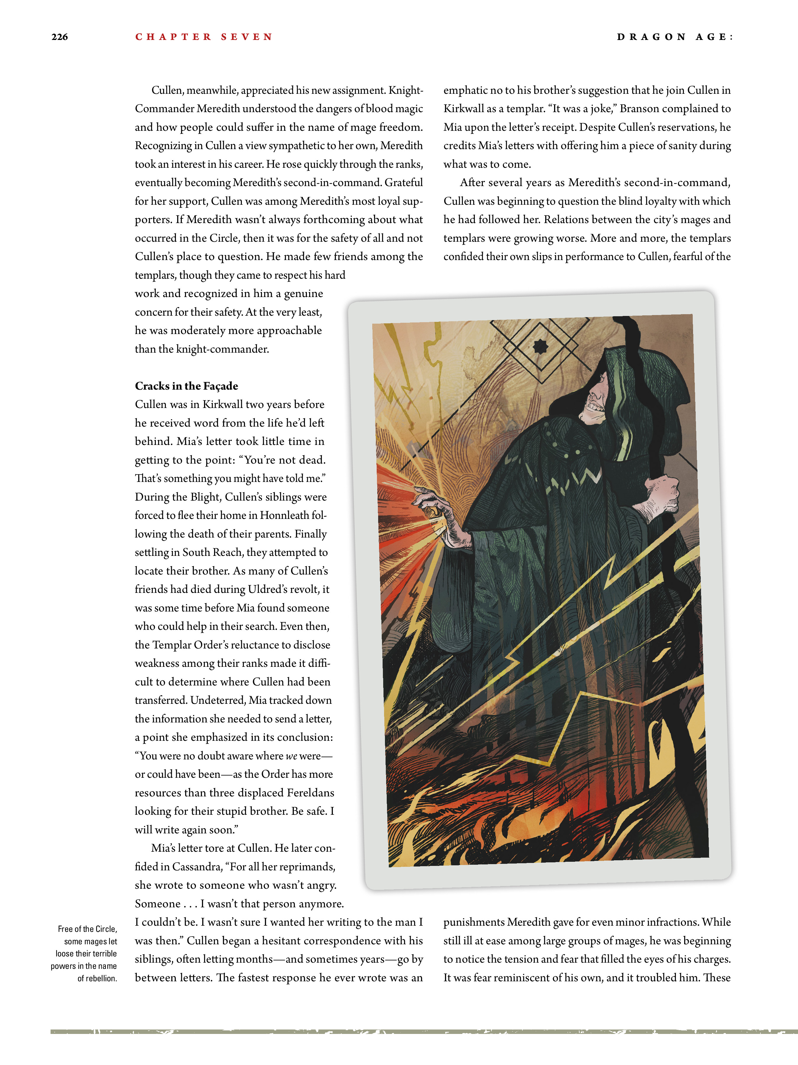 Read online Dragon Age: The World of Thedas comic -  Issue # TPB 2 - 221